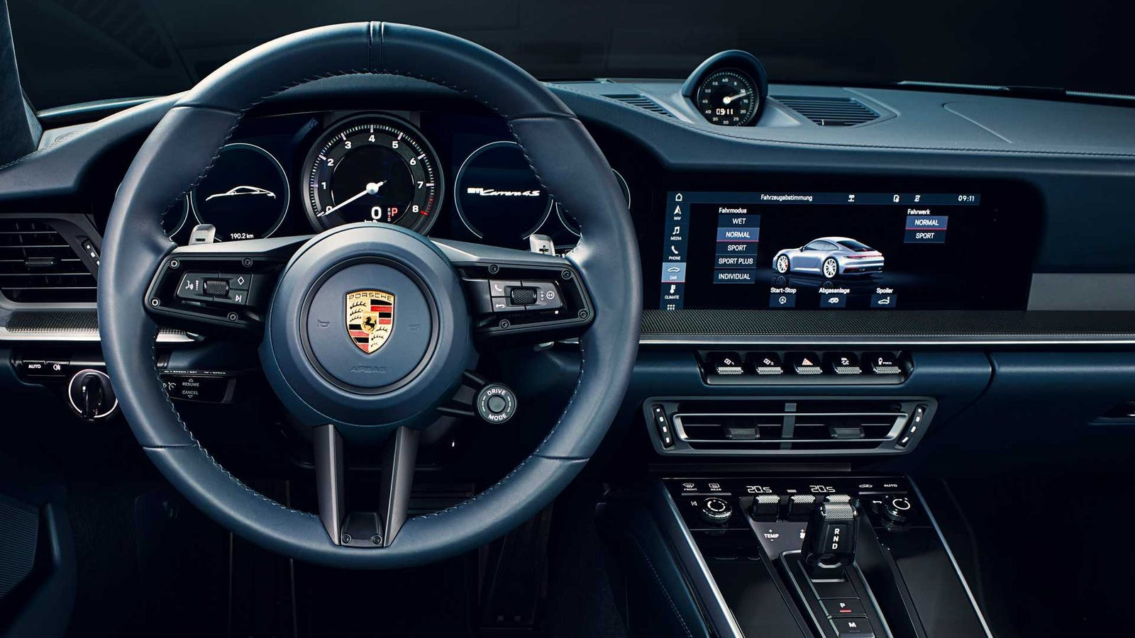 QnA VBage Here's What's New and Awesome Inside the 2020 Porsche 911