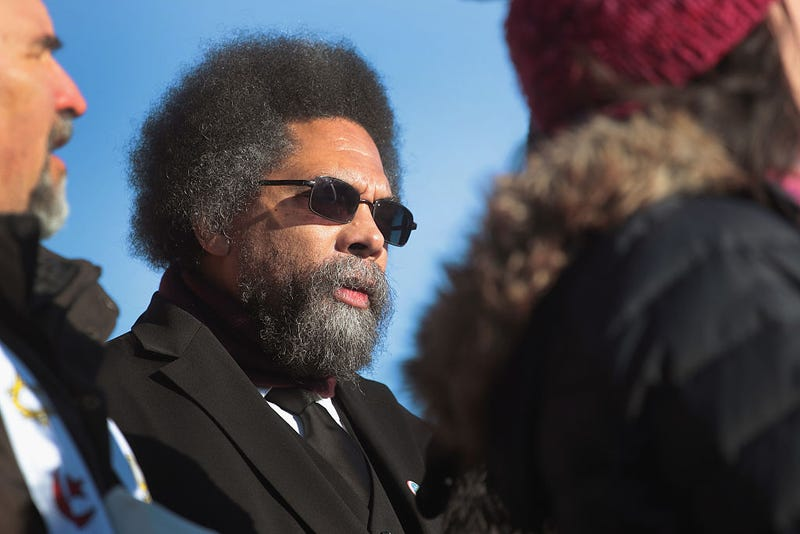 Cornel West (Scott Olsen/Getty Images)