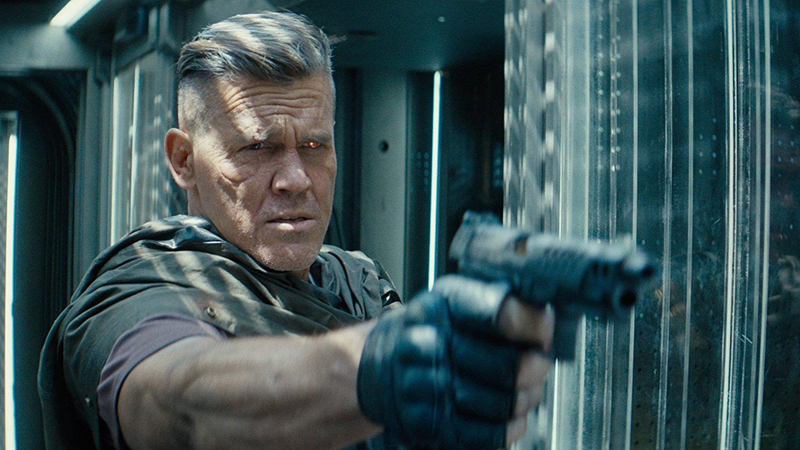 Cable, played by Josh Brolin.