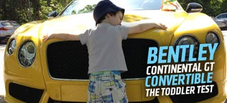 Illustration for article titled 2014 Bentley Continental GT V8S Convertible: Will It Baby?