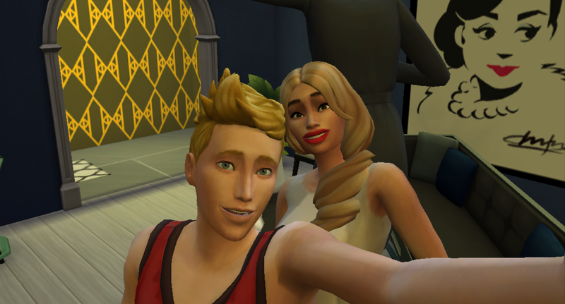 Illustration for article titled The Sims 4 Celebrity House Update: Introducing, Blac Chyna and Prompto