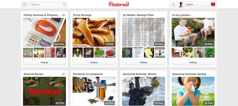 Illustration for article titled Apocalypse Preppers Are Using Pinterest to Plan for the End of the World