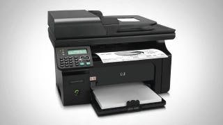 Illustration for article titled The HP LaserJet Pro M1212nf All-In-One Printer Gives You Great Bang for the Buck