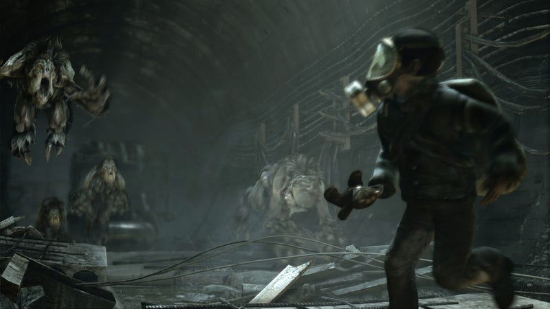 Illustration for article titled These Metro: Last Light Screens Will Make You Run for Cover