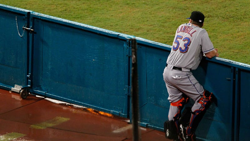Illustration for article titled Mets Bullpen Catcher Flips His Car, Tries To Flee On Foot, Is Charged With DUI