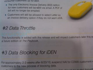 Illustration for article titled Sprint to Begin Throttling Data This Summer?