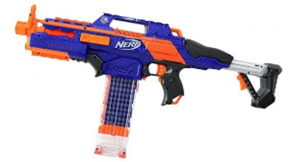 fake nerf guns blaze storm revolver upgrade