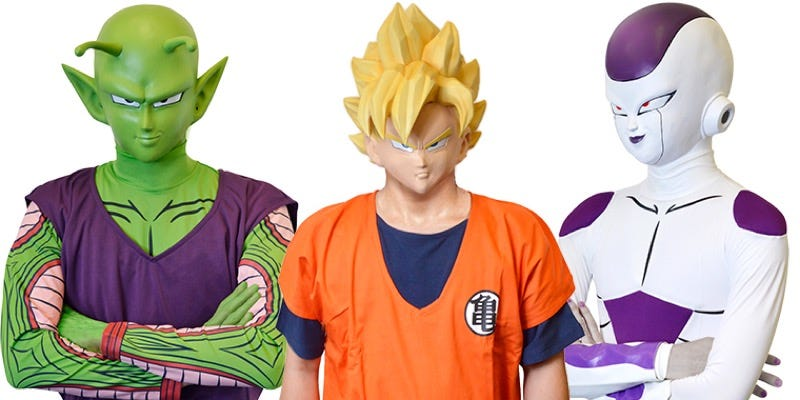 Illustration for article titled Dressing Up Like Dragon Ball Z Made Easy