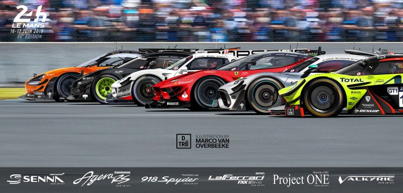 Illustration for article titled WEC goes for hypercars; Aston Martin and Toyota confirmed