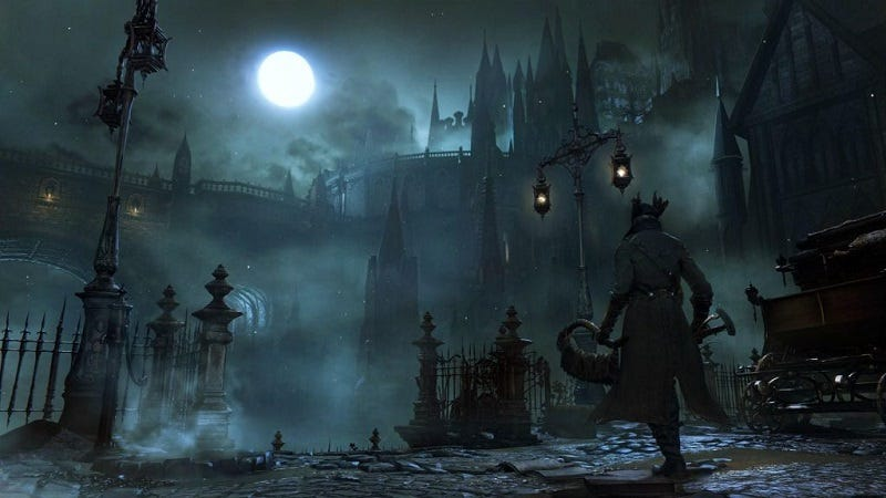 Illustration for article titled We Are Doing A German Coop Lore Playthrough Of Bloodborne (Update: Now With English Subtitles)