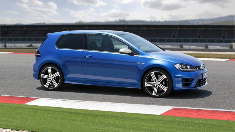 Weve Already Seen The Volkswagen Golf R Mk 7 That Europeans Are Going To Get But Now This Is One Thats Show Up In VWs US Showrooms