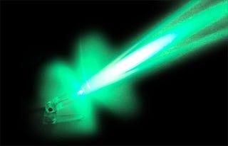 Illustration for article titled 192 Laser Beams Combined to Form One Megajoule Laser Shot