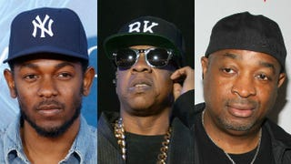 Kendrick Lamar; Jay Z; Chuck DJemal Countess/Getty Images; Frazer Harrison/Getty Images; Rob Kim/Getty Images