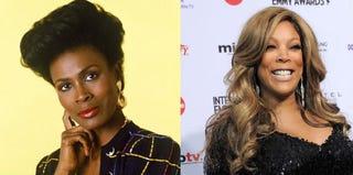 Janet Hubert (NBC Universal/IMDb.com); Wendy Williams (Stan Honda/Getty Images)