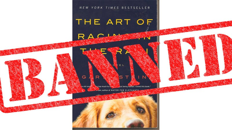 The Art Of Racing In The Rain: The Art Of Racing In The Rain Banned By Dallas-Area School