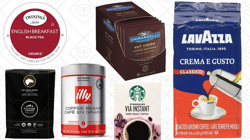 Coffee, Tea, and Hot Chocolate Sale
