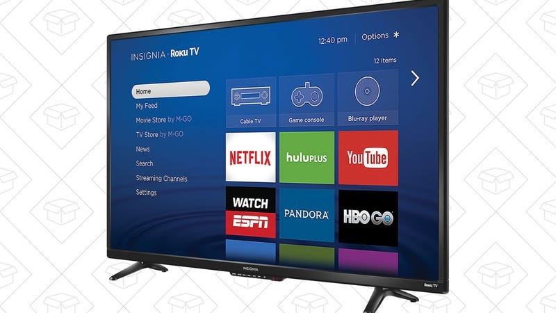 Illustration for article titled Score a New Bedroom TV For As Little As $140, Complete With Built-In Roku