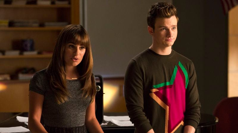 """Illustration for article titled Glee: """"Loser Like Me"""" / """"Homecoming"""""""