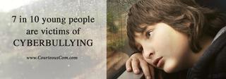 cyberbullying signs www.courteouscom.com