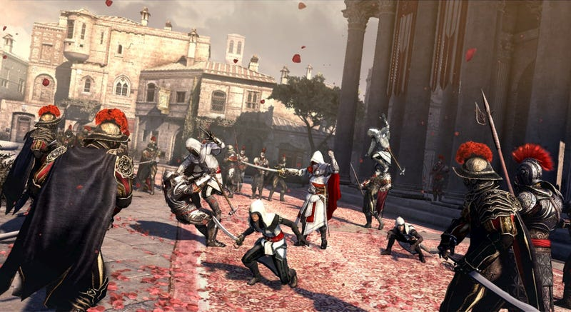 Illustration for article titled Review: Assassin's Creed Brotherhood Is The Best Assassin's Creed