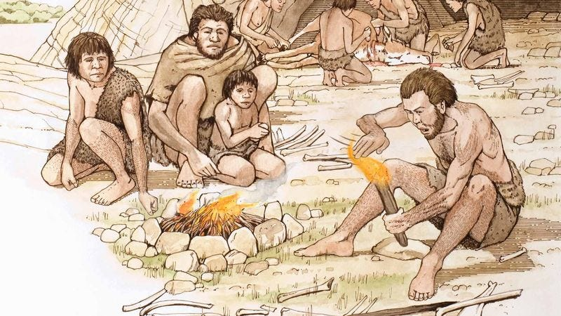 Illustration for article titled New Evidence Suggests Early Humans First Used Fire To Impress Friends