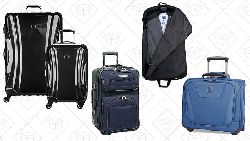 Up to 40% Off Luggage & Travel Gear