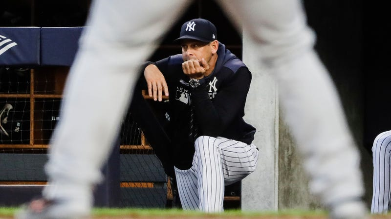 Illustration for article titled Aaron Boone Wants MLB To Consider Implementing A Mercy Rule