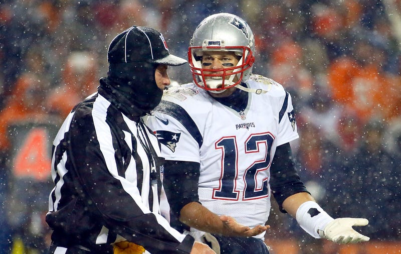 """Illustration for article titled The Broncos Have Started Trash Talking The PatriotsAnd """"Crybaby"""" Tom Brady"""