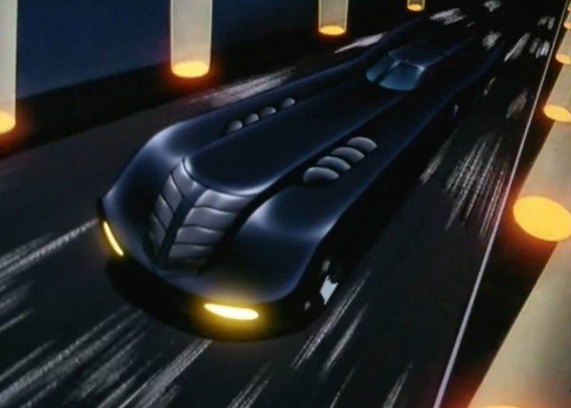 Illustration for article titled Batmobile Question