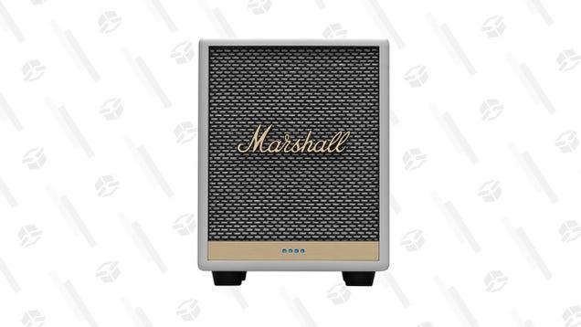 Take $50 off One of Marshall s Best Smart Speakers, the Uxbridge
