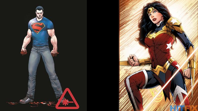 Illustration for article titled Wonder Woman Gets Pants, Superman Loses Cape