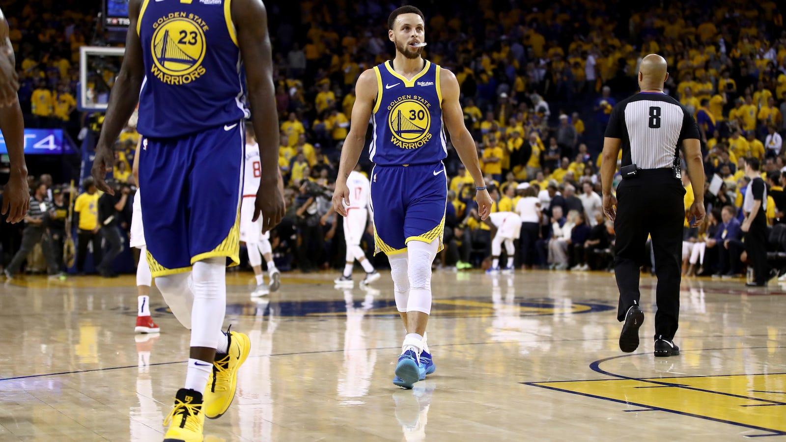 Nghỉ ngơi chắc chắn không phải mục đích duy nhất của Golden State Warriors trước thềm NBA Finals