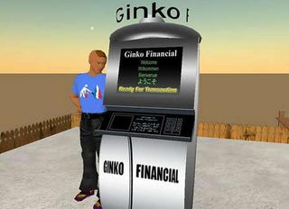 Illustration for article titled Second Life Foresaw the US Banking Crisis