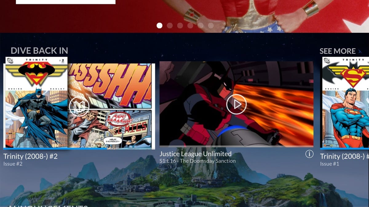 DC Universe Streaming Wants Superheroes on Every Screen You Own