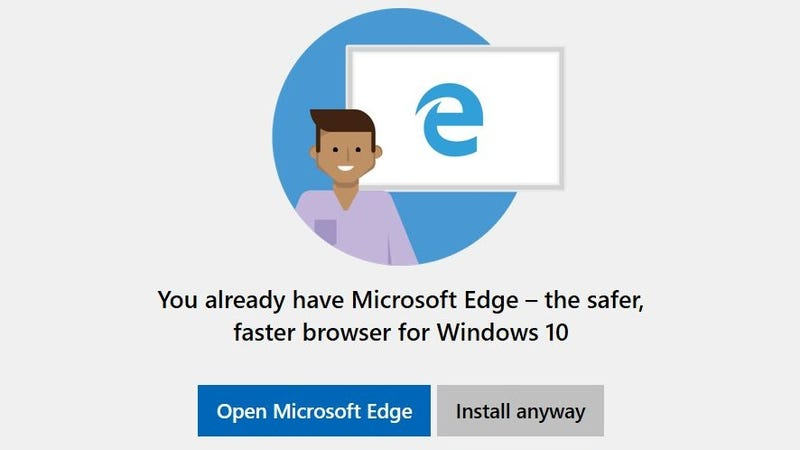 If Windows 10 Tells You Not to Install Chrome or Firefox, Ignore it