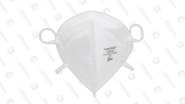Obtenga seis mascarillas de tela gratis con la compra de un paquete de mascarillas faciales N95 certificadas por los CDC 12