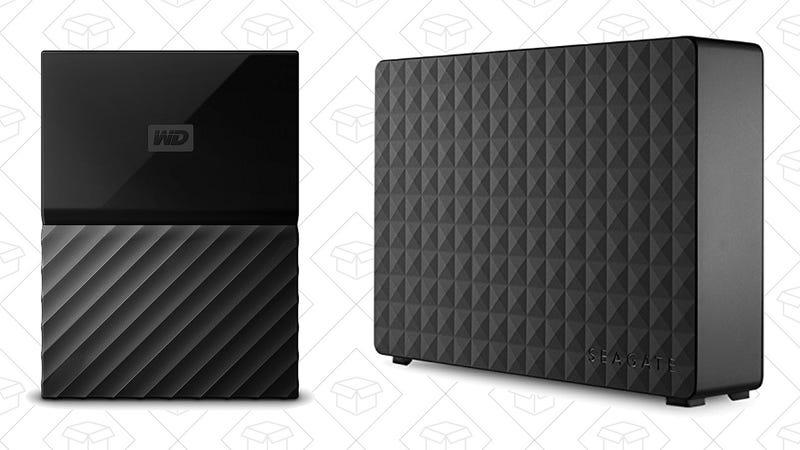 WD 4TB My Passport Hard Drive | $99 | AmazonSeagate Expansion 8TB Hard Drive | $150 | Amazon