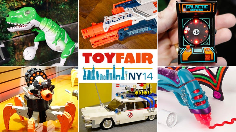 Illustration for article titled The Best of Toy Fair 2014
