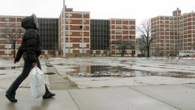 cabrini green housing projects