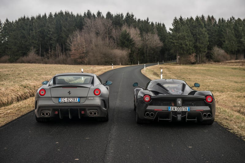Illustration for article titled What It's Like Going To The Nürbürgring In A 950 HP LaFerrari