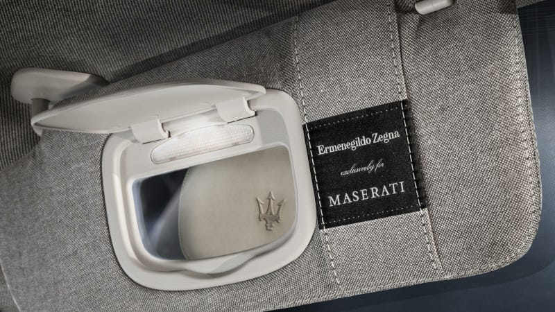 Illustration for article titled Maserati Quattroporte Ermenegildo Zegna Limited Edition Concept Car to Debut at Frankfurt Auto Show