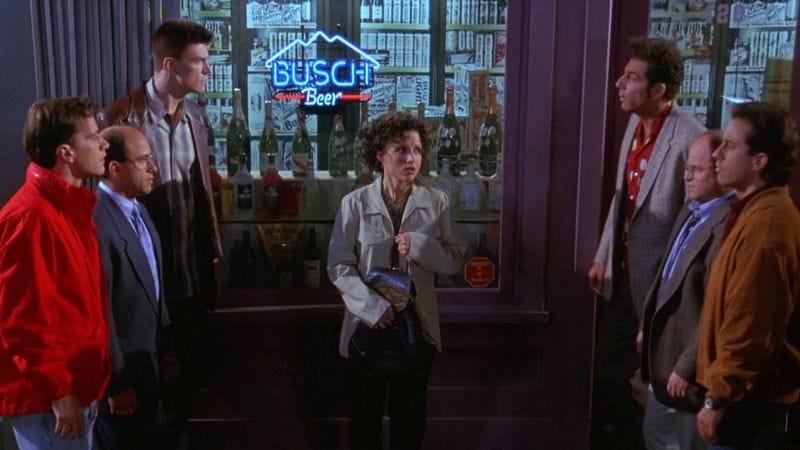 """Illustration for article titled """"Kramer, meet Feldman"""": 19 TV Bizarros"""