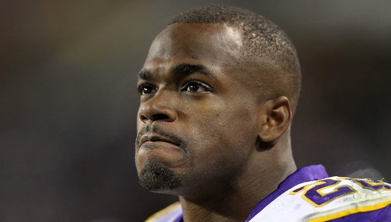 Illustration for article titled Adrian Peterson Is Ranting On Twitter About America's Godlessness