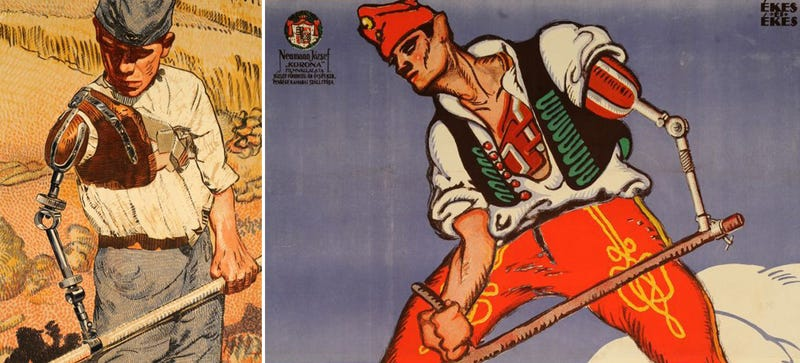 Rare World War I Propaganda Shows the Biomech Soldier of 100 Years Ago