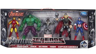 Illustration for article titled An Age Of Ultron Figure Set For The Comic Fan, Rather Than The Moviegoer