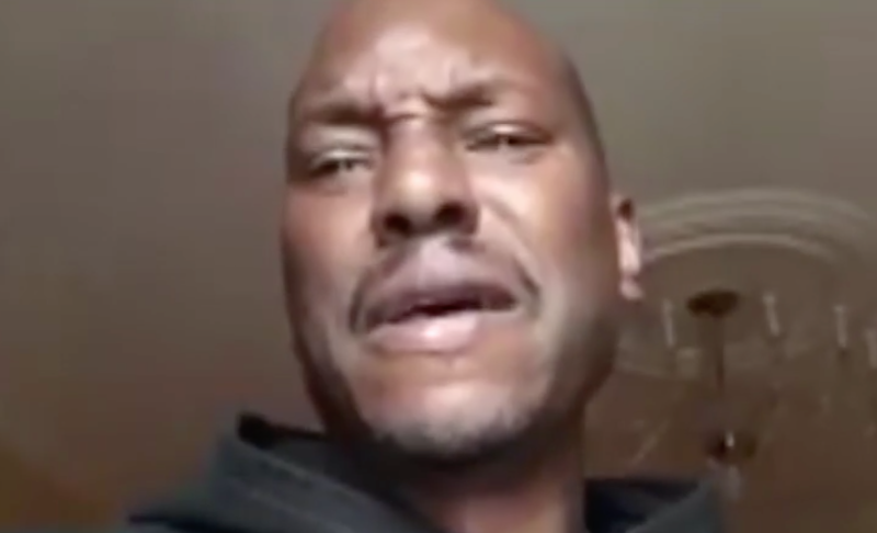 Tyrese Gibson (video screenshot)