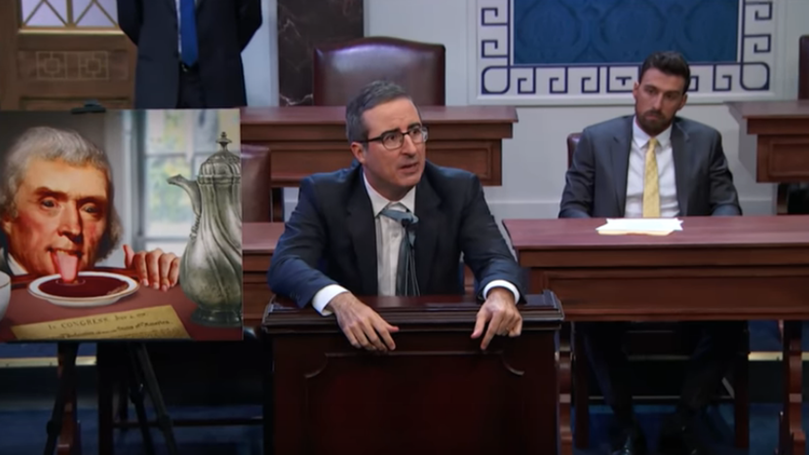 John Oliver filibusters the filibuster on Last Week Tonight
