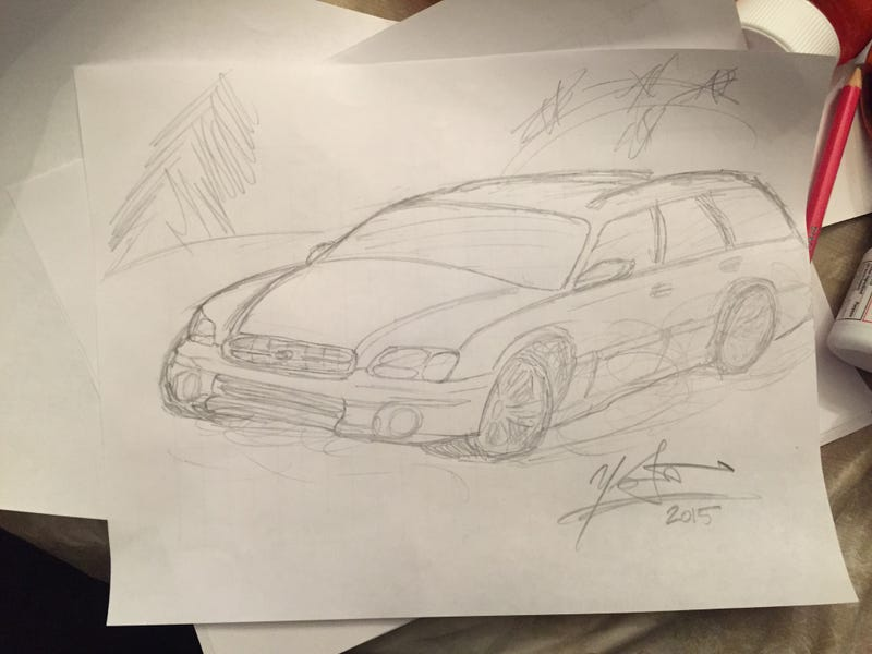Illustration for article titled Subaru On Ice