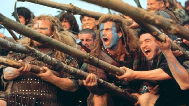 Illustration for article titled Braveheart: The TV Show in development, basically