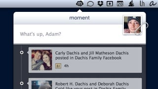 Illustration for article titled Moment Simplifies Posting Photos and Status Updates to Facebook